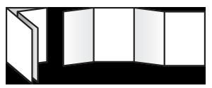 A6 Flyer 8pp Fold